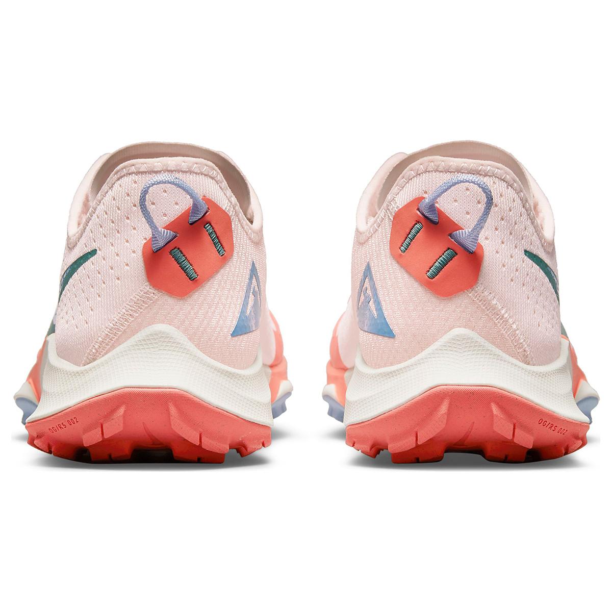 Women's Nike Air Zoom Terra Kiger 7 Trail Running Shoe - Color: Light Soft Pink/Bicoastal/Magic Ember - Size: 5 - Width: Regular, Light Soft Pink/Bicoastal/Magic Ember, large, image 7