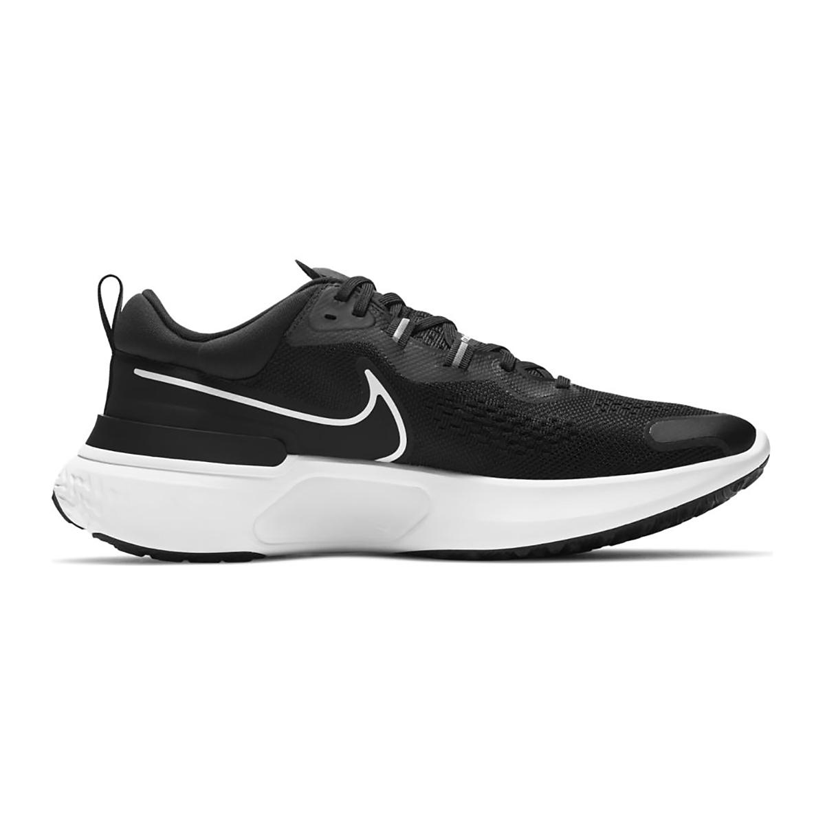 Men's Nike React Miler 2 Running Shoe - Color: Black/White/Smoke Grey - Size: 6.5 - Width: Regular, Black/White/Smoke Grey, large, image 1