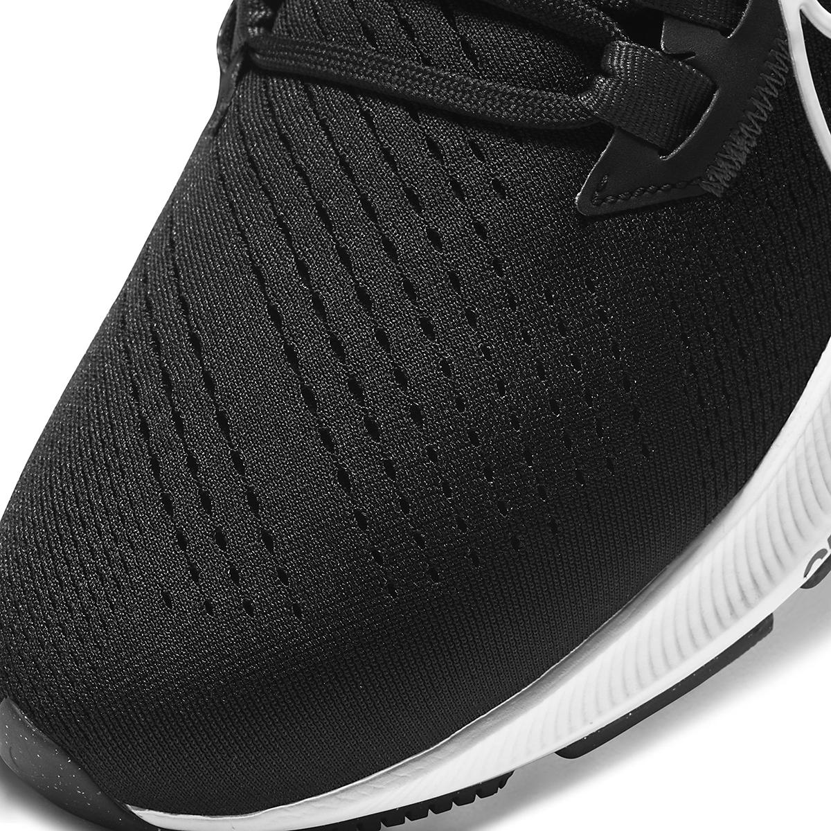 Men's Nike Air Zoom Pegasus 38 Running Shoe - Color: Black/White/Anthracite - Size: 6 - Width: Regular, Black/White/Anthracite, large, image 3