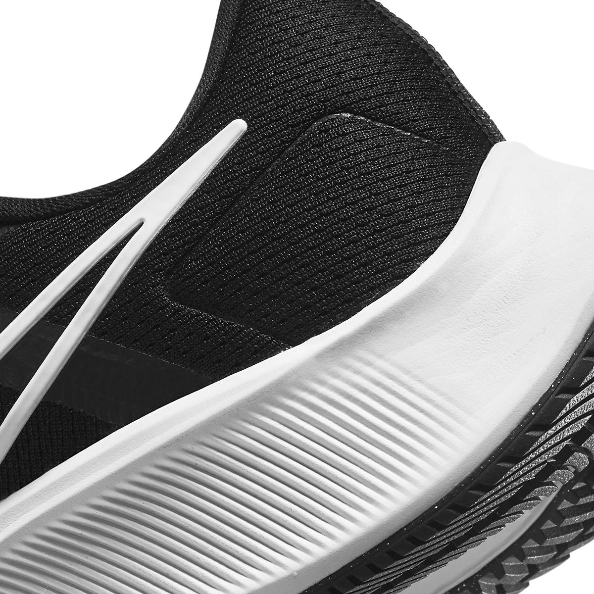 Men's Nike Air Zoom Pegasus 38 Running Shoe - Color: Black/White/Anthracite - Size: 6 - Width: Regular, Black/White/Anthracite, large, image 4