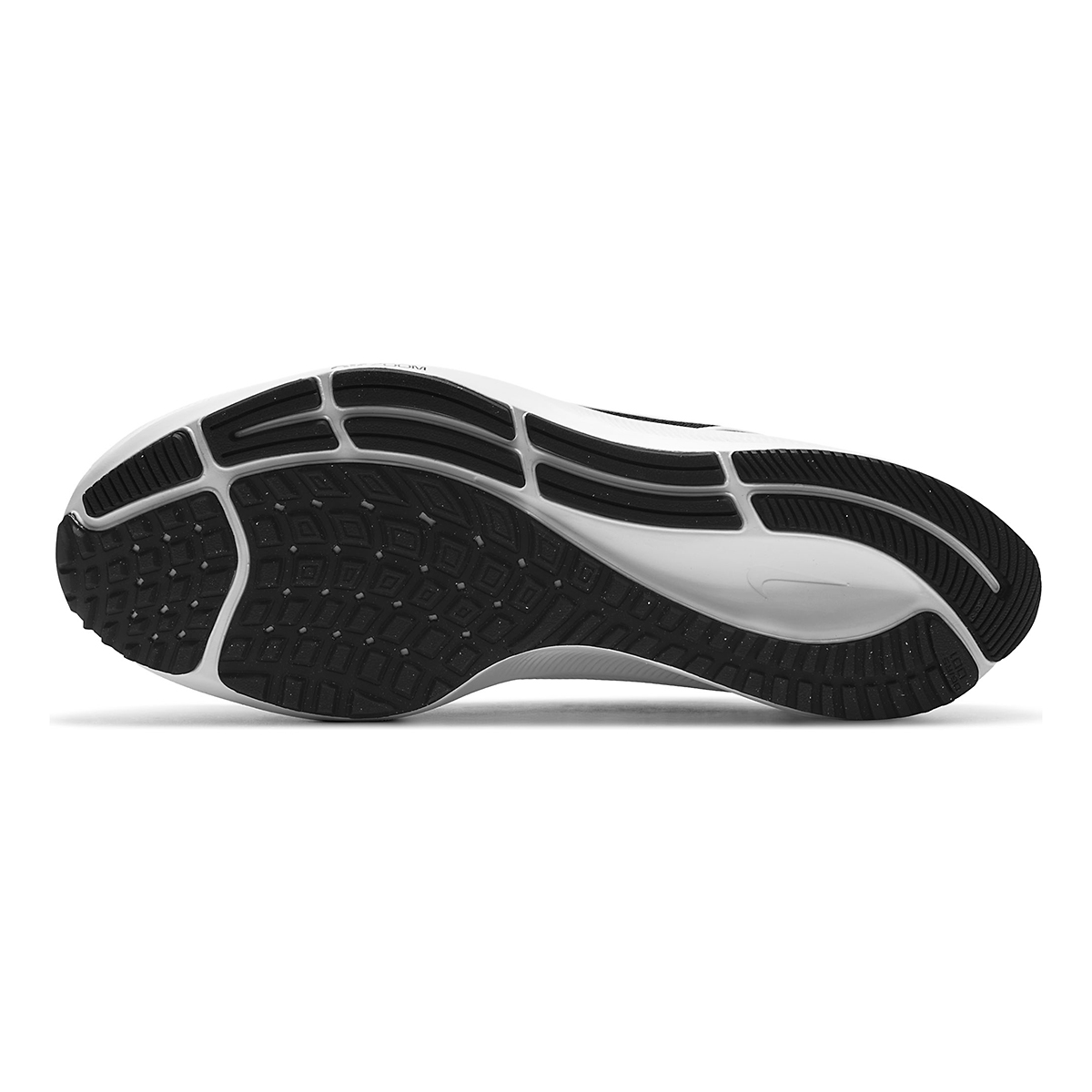Men's Nike Air Zoom Pegasus 38 Running Shoe - Color: Black/White/Anthracite - Size: 6 - Width: Regular, Black/White/Anthracite, large, image 7