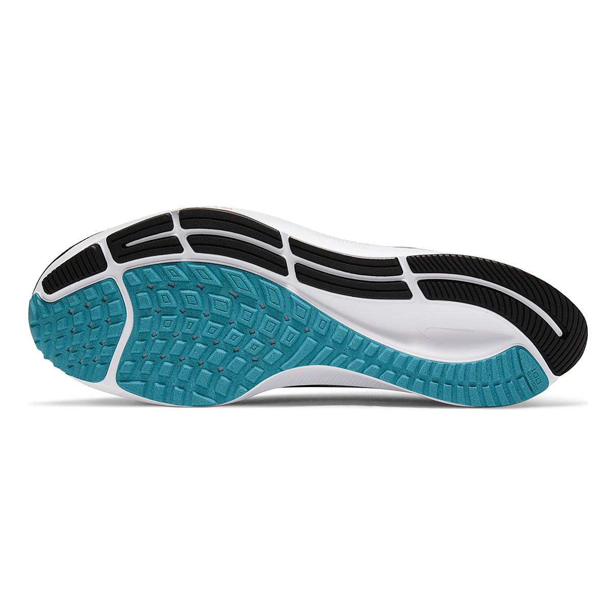 Men's Nike Air Zoom Pegasus 38 Running Shoe - Color: Black/Metallic Silver/White - Size: 6.5 - Width: Regular, Black/Metallic Silver/White, large, image 7