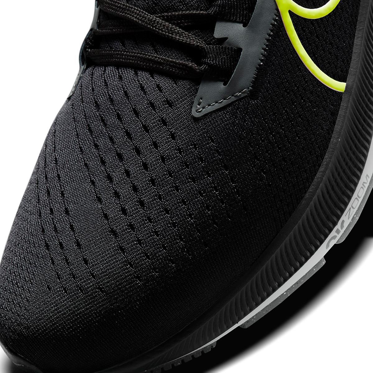 Men's Nike Air Zoom Pegasus 38 Running Shoe - Color: Smoke Grey/Volt Grey - Size: 6 - Width: Regular, Smoke Grey/Volt Grey, large, image 4