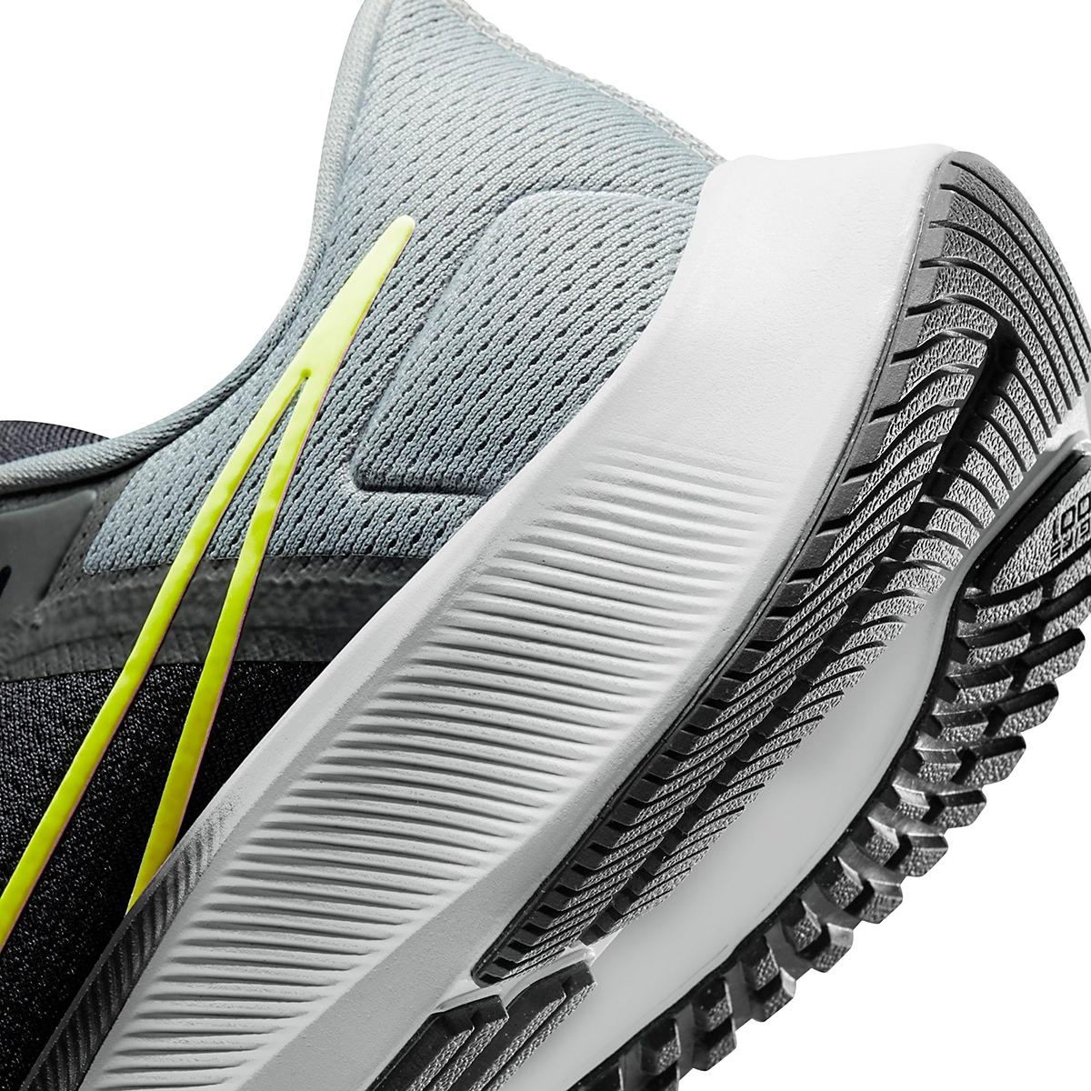 Men's Nike Air Zoom Pegasus 38 Running Shoe - Color: Smoke Grey/Volt Grey - Size: 6 - Width: Regular, Smoke Grey/Volt Grey, large, image 5