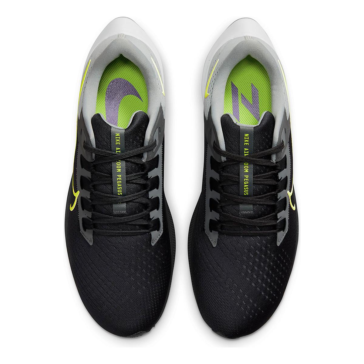 Men's Nike Air Zoom Pegasus 38 Running Shoe - Color: Smoke Grey/Volt Grey - Size: 6 - Width: Regular, Smoke Grey/Volt Grey, large, image 6