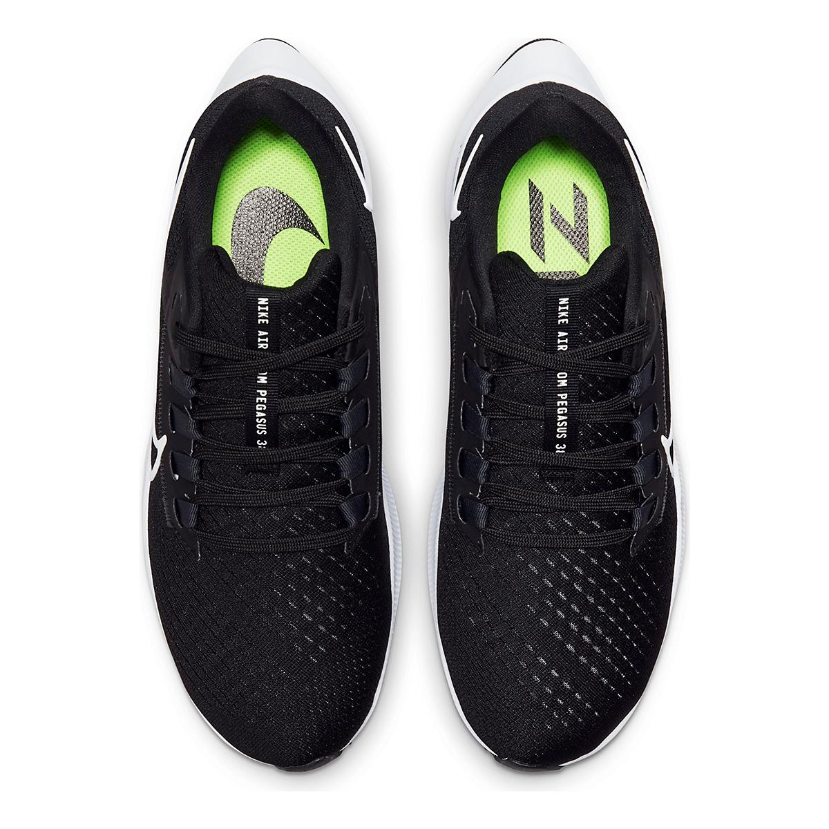 Women's Nike Air Zoom Pegasus 38 Running Shoe - Color: Black/White/Anthracite - Size: 5 - Width: Regular, Black/White/Anthracite, large, image 6