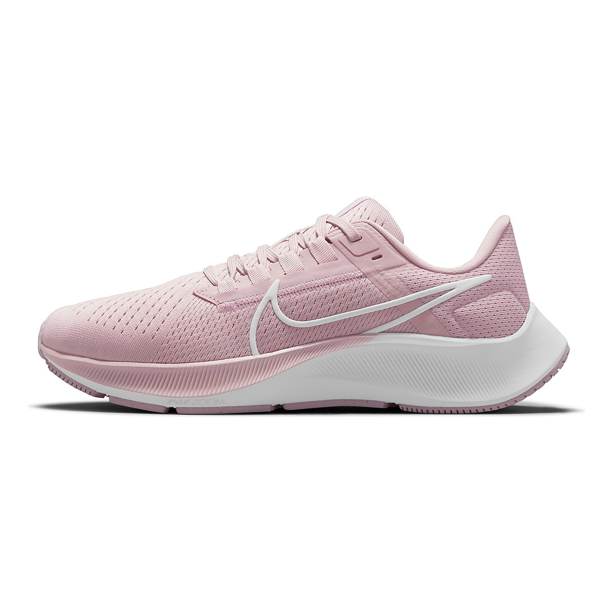 Women's Nike Air Zoom Pegasus 38 Running Shoe - Color: Champagne/White/Arctic Pink - Size: 5 - Width: Regular, Champagne/White/Arctic Pink, large, image 2