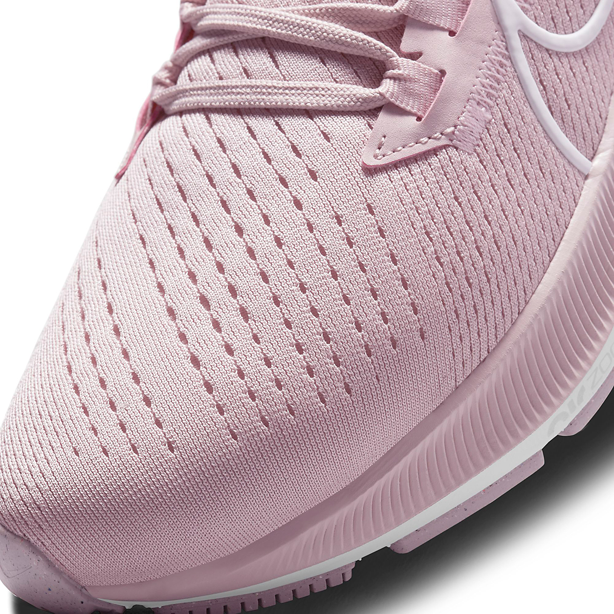 Women's Nike Air Zoom Pegasus 38 Running Shoe - Color: Champagne/White/Arctic Pink - Size: 5 - Width: Regular, Champagne/White/Arctic Pink, large, image 4