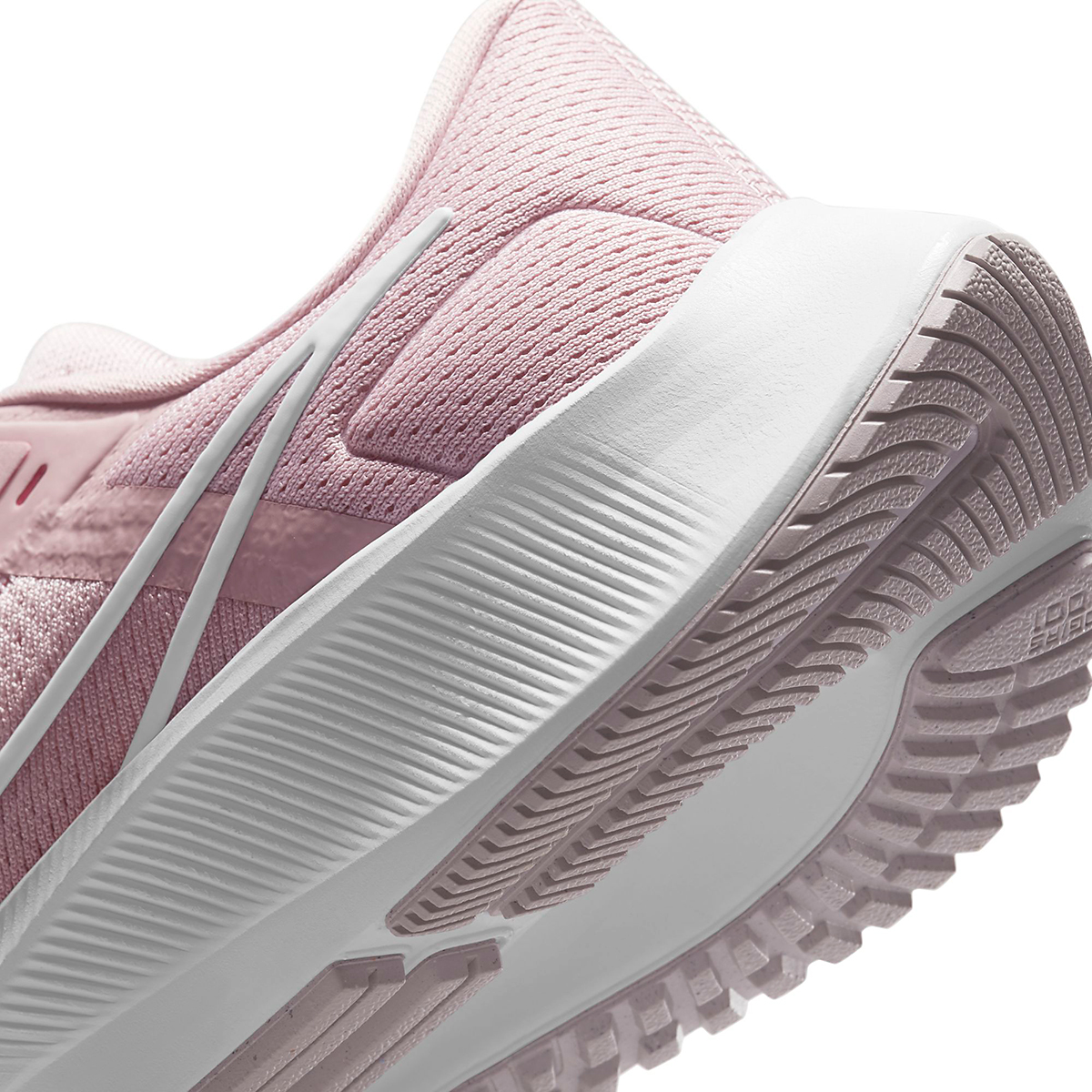 Women's Nike Air Zoom Pegasus 38 Running Shoe - Color: Champagne/White/Arctic Pink - Size: 5 - Width: Regular, Champagne/White/Arctic Pink, large, image 5