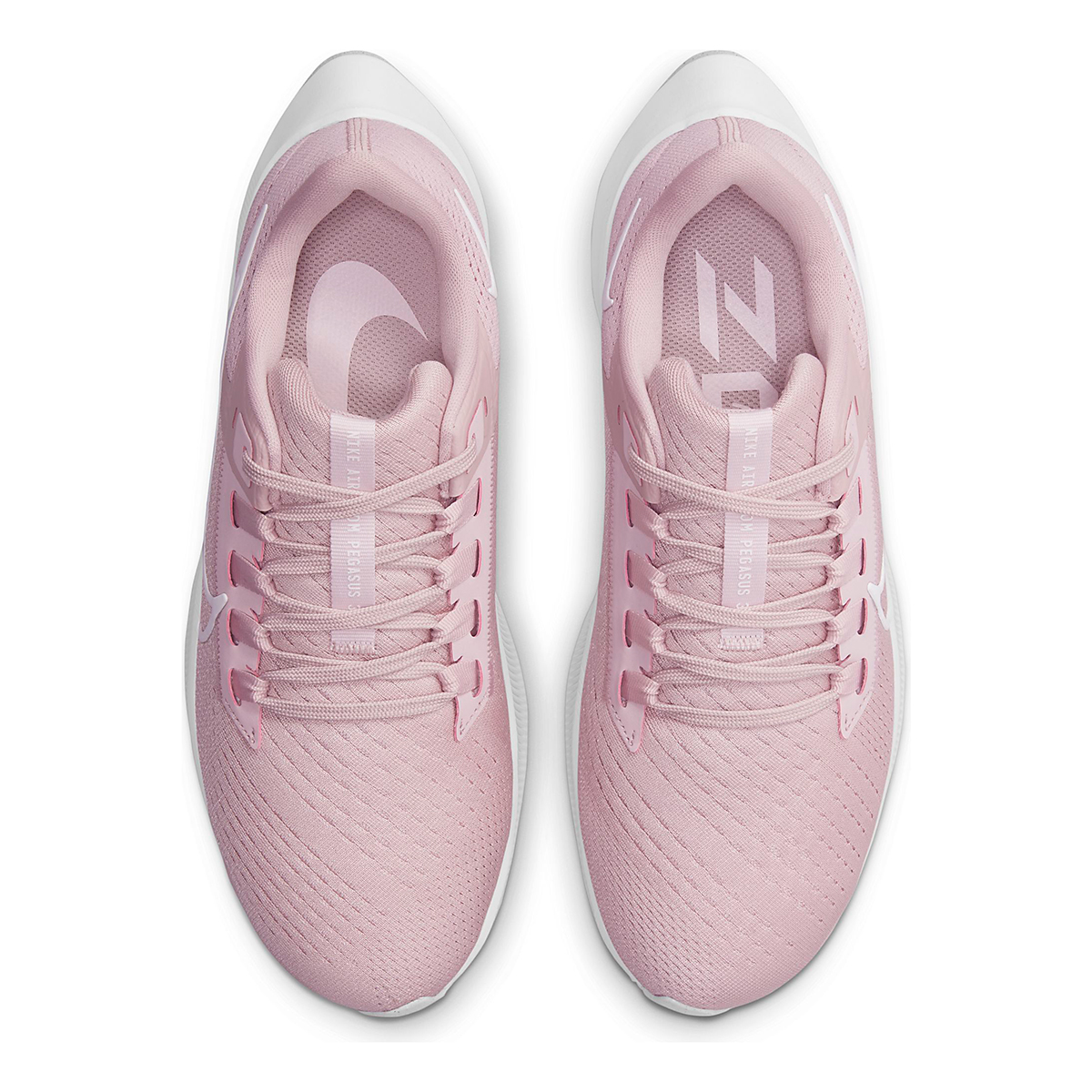Women's Nike Air Zoom Pegasus 38 Running Shoe - Color: Champagne/White/Arctic Pink - Size: 5 - Width: Regular, Champagne/White/Arctic Pink, large, image 6