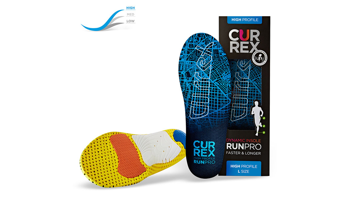 Currex Insole RunPro High - Color: Blue - Size: XS, Blue, large, image 4