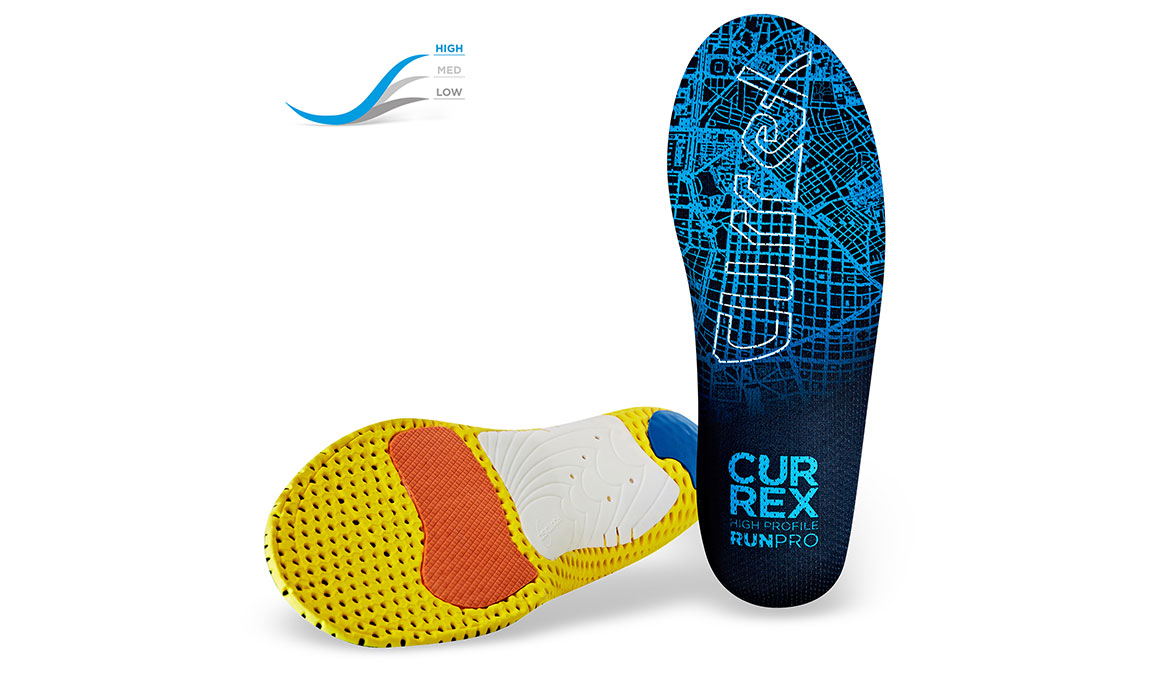 Currex Insole RunPro High - Color: Blue - Size: XS, Blue, large, image 2