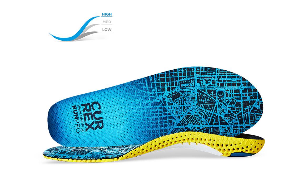 Currex Insole RunPro High - Color: Blue - Size: XS, Blue, large, image 1