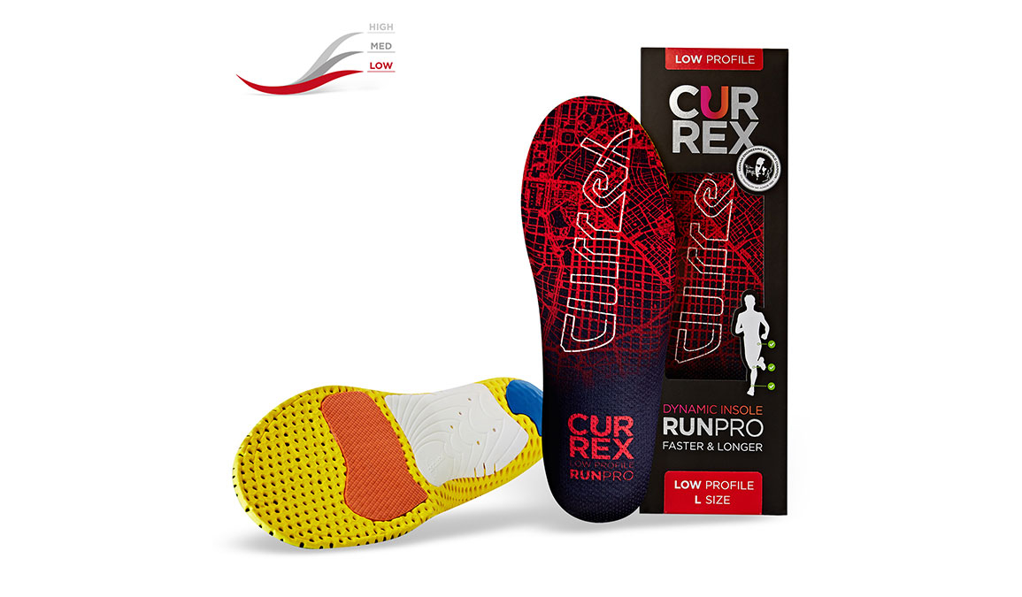 Currex Insole RunPro Low - Color: Red - Size: XS, Red, large, image 4