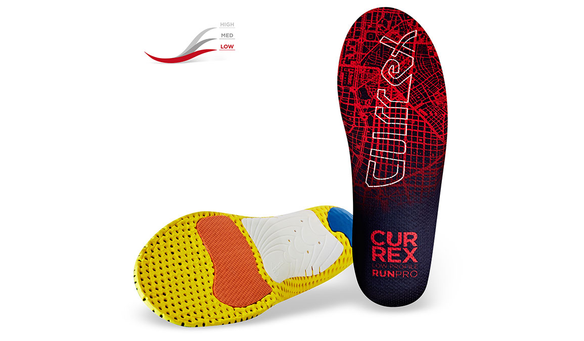 Currex Insole RunPro Low - Color: Red - Size: XS, Red, large, image 2
