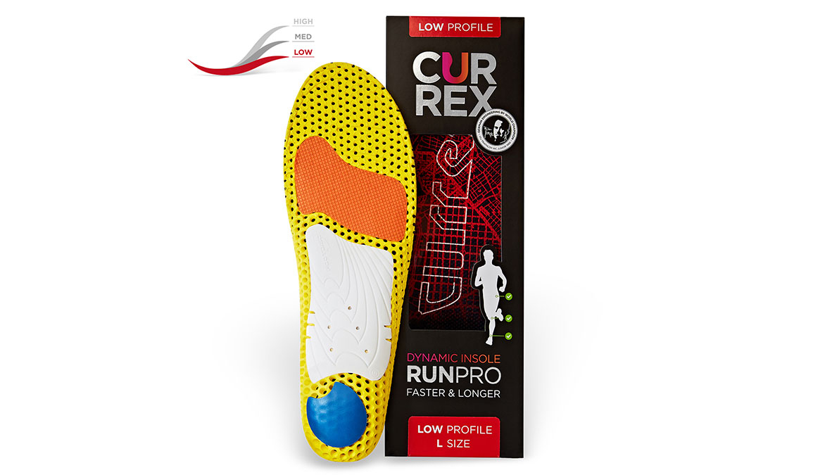 Currex Insole RunPro Low - Color: Red - Size: XS, Red, large, image 3