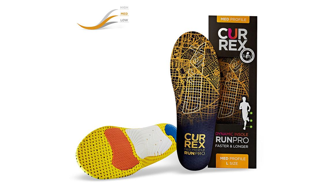 Currex Insole RunPro Med - Color: Orange - Size: XS, Orange, large, image 4