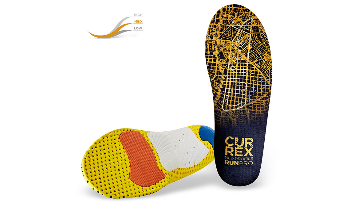 Currex Insole RunPro Med - Color: Orange - Size: XS, Orange, large, image 2