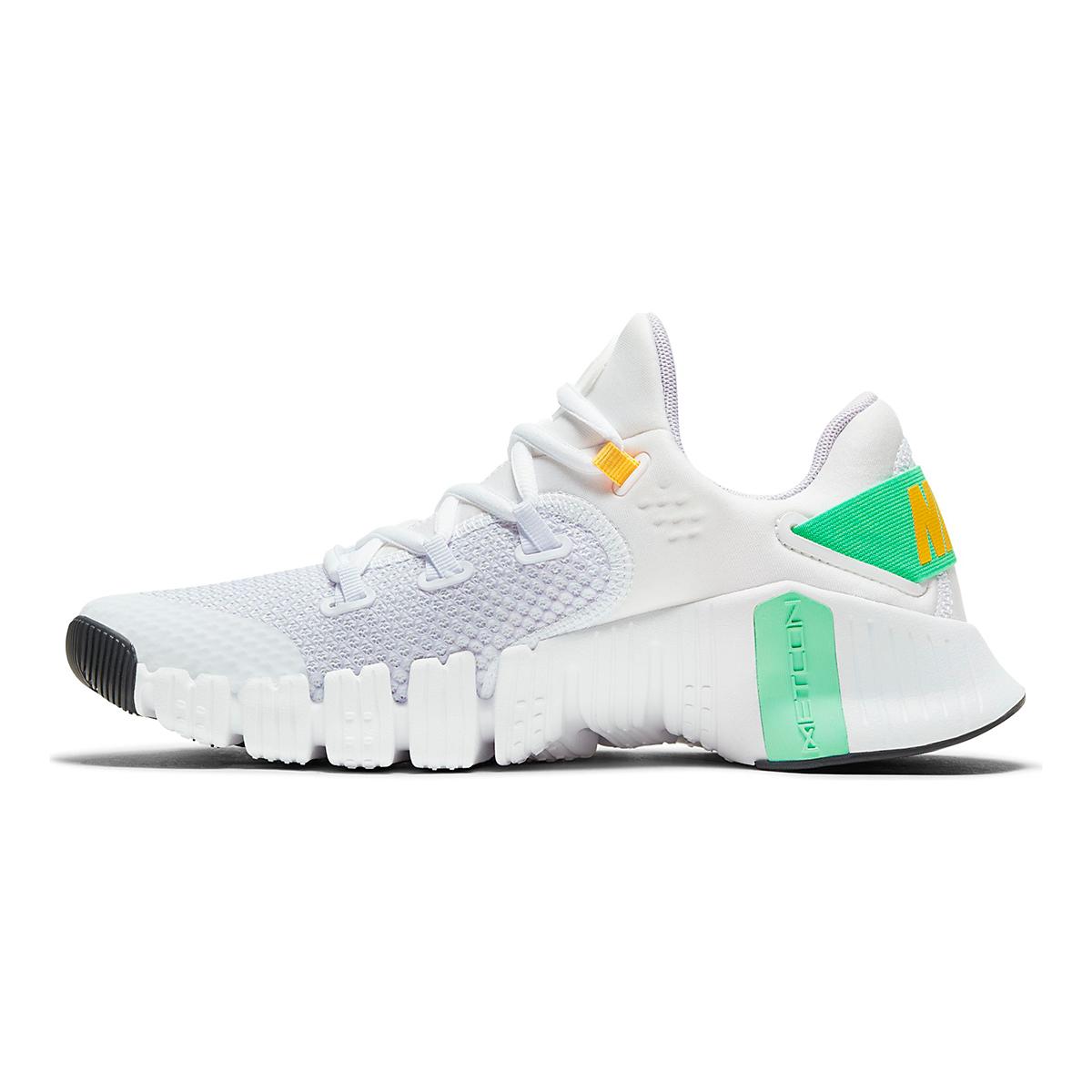 Women's Nike Free Metcon 4 Training Shoe - Color: White/Infinite Lilac/Smoke Grey - Size: 5 - Width: Regular, White/Infinite Lilac/Smoke Grey, large, image 2