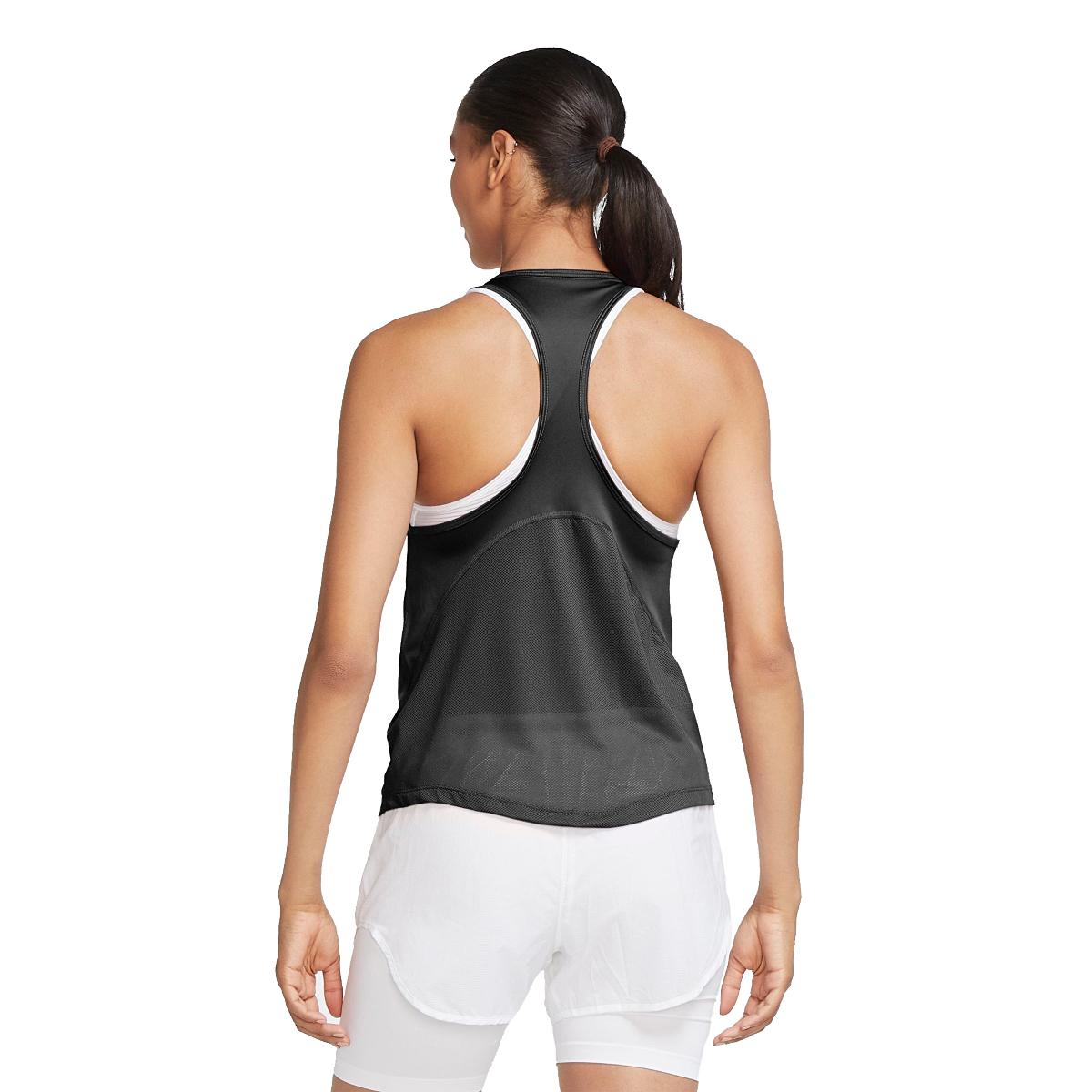 Women's Nike Miler Women's Running Singlet - Color: Black/Reflective - Size: S, Black/Reflective, large, image 3