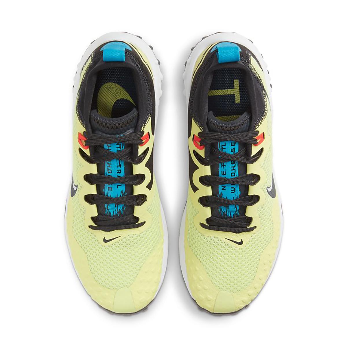 Women's Nike Wildhorse 7 Trail Running Shoe - Color: Limelight/Off Noir-Laser Blue-Chile Red - Size: 5 - Width: Regular, Limelight/Off Noir-Laser Blue-Chile Red, large, image 3