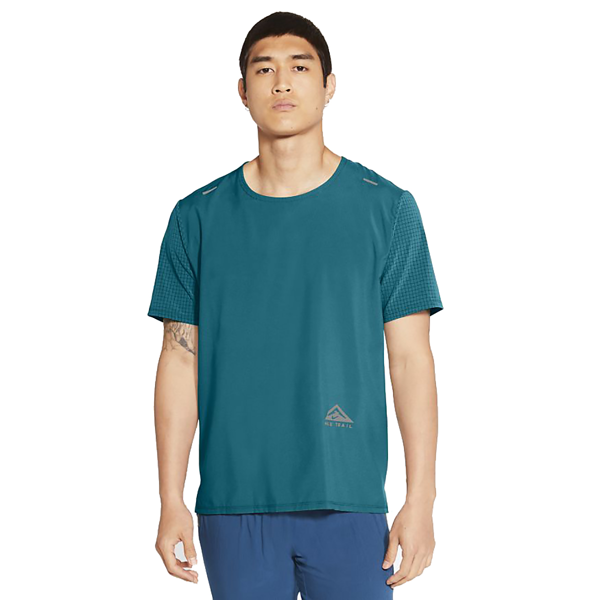Men's Nike Dri-FIT Rise 365 Short-Sleeve Trail Running Top, , large, image 1