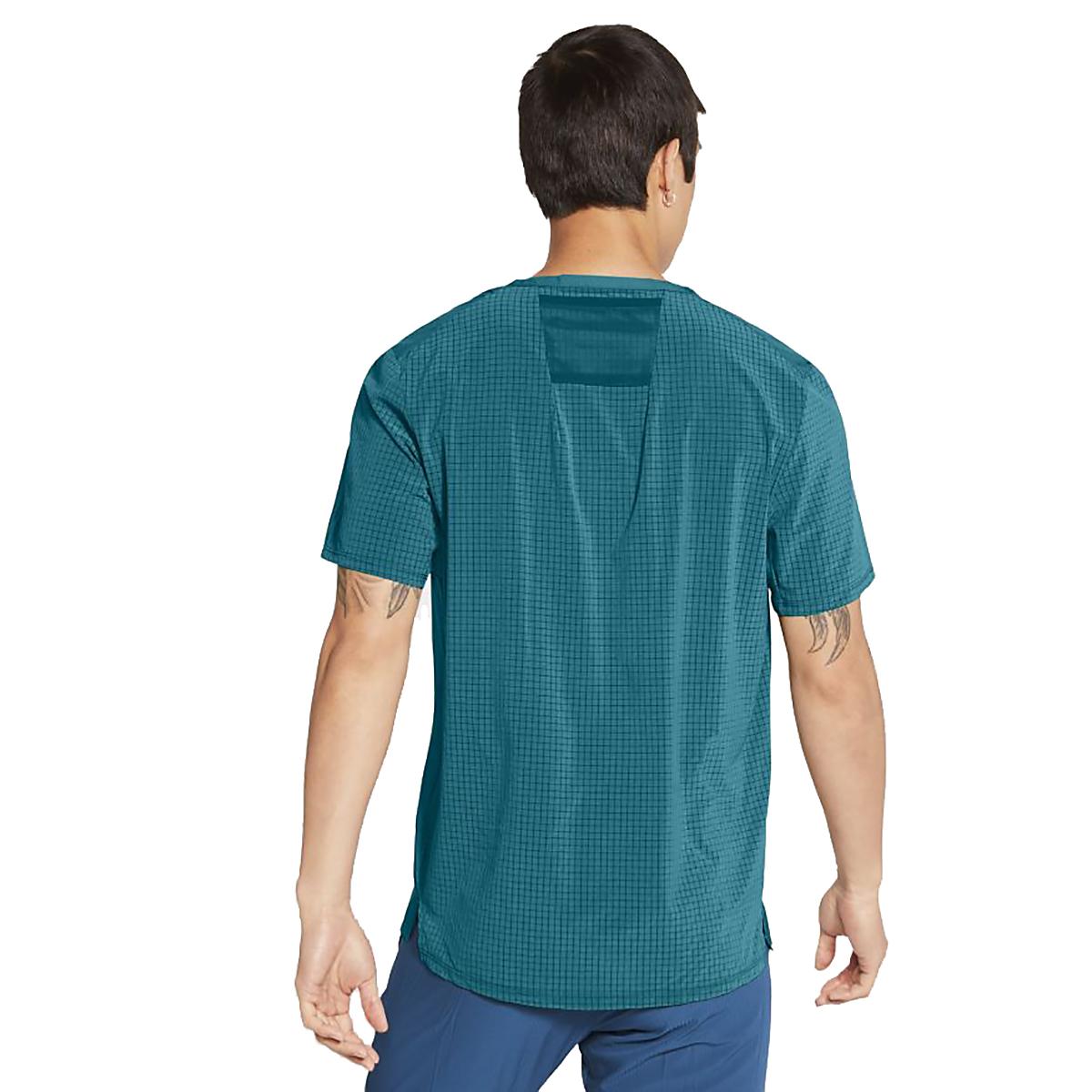 Men's Nike Dri-FIT Rise 365 Short-Sleeve Trail Running Top, , large, image 2