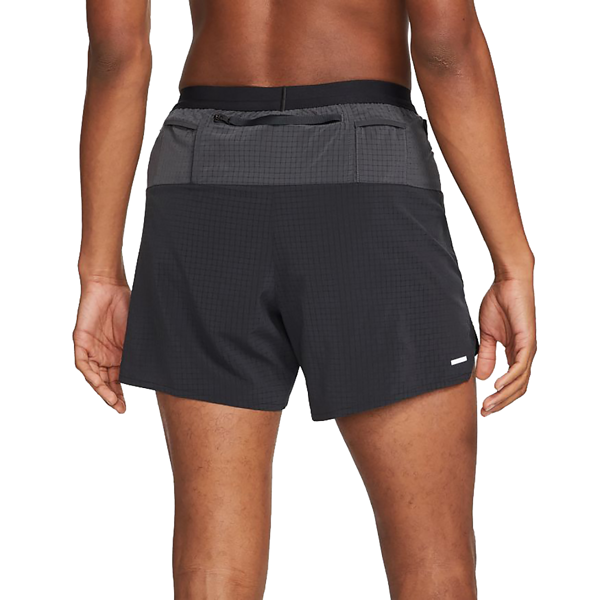 Men's Nike Dri-FIT Flex Stride Trail Shorts - Color: Black/Dark Smoke Grey/White - Size: S, Black/Dark Smoke Grey/White, large, image 2