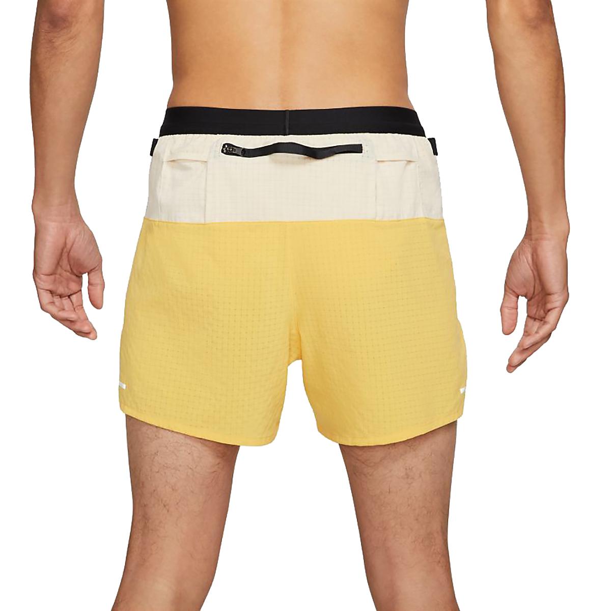 Men's Nike Dri-FIT Flex Stride Trail Shorts - Color: Solar Flare/Beach/Black - Size: S, Solar Flare/Beach/Black, large, image 2