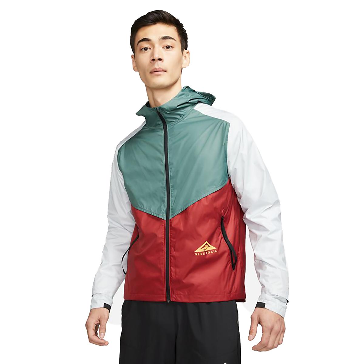 Men's Nike Windrunner Trail Running Jacket, , large, image 1