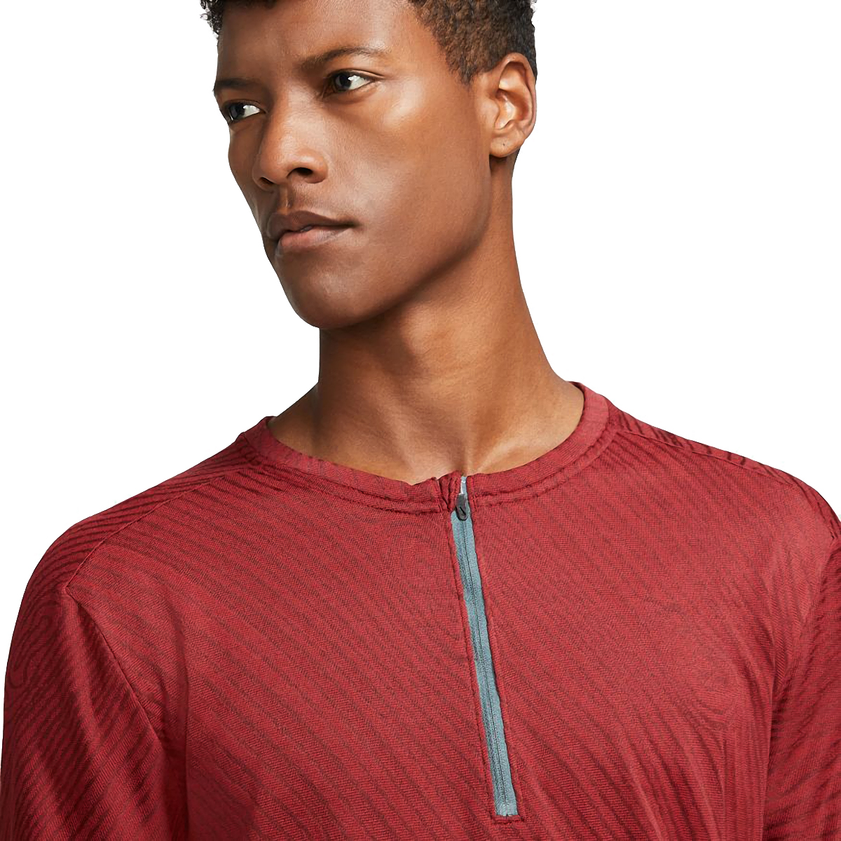Men's Nike Dri-FIT Element 1/2-Zip Trail Running Top - Color: Dark Cayenne/Bronze Eclipse - Size: S, Dark Cayenne/Bronze Eclipse, large, image 4