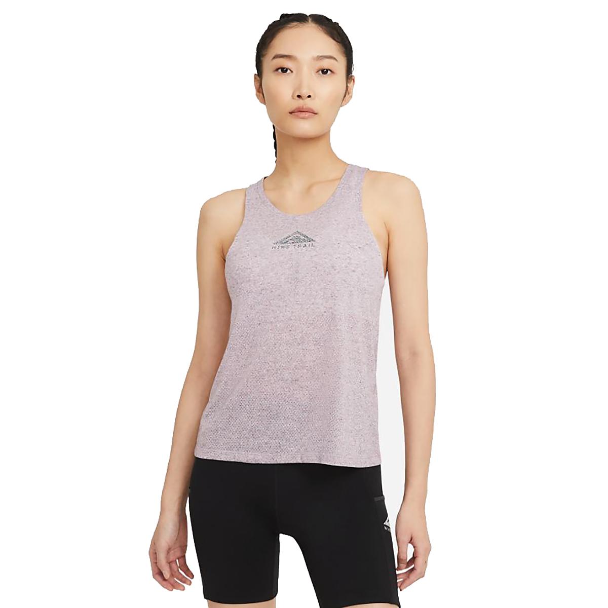 Women's Nike City Sleek Trail Running Tank, , large, image 1