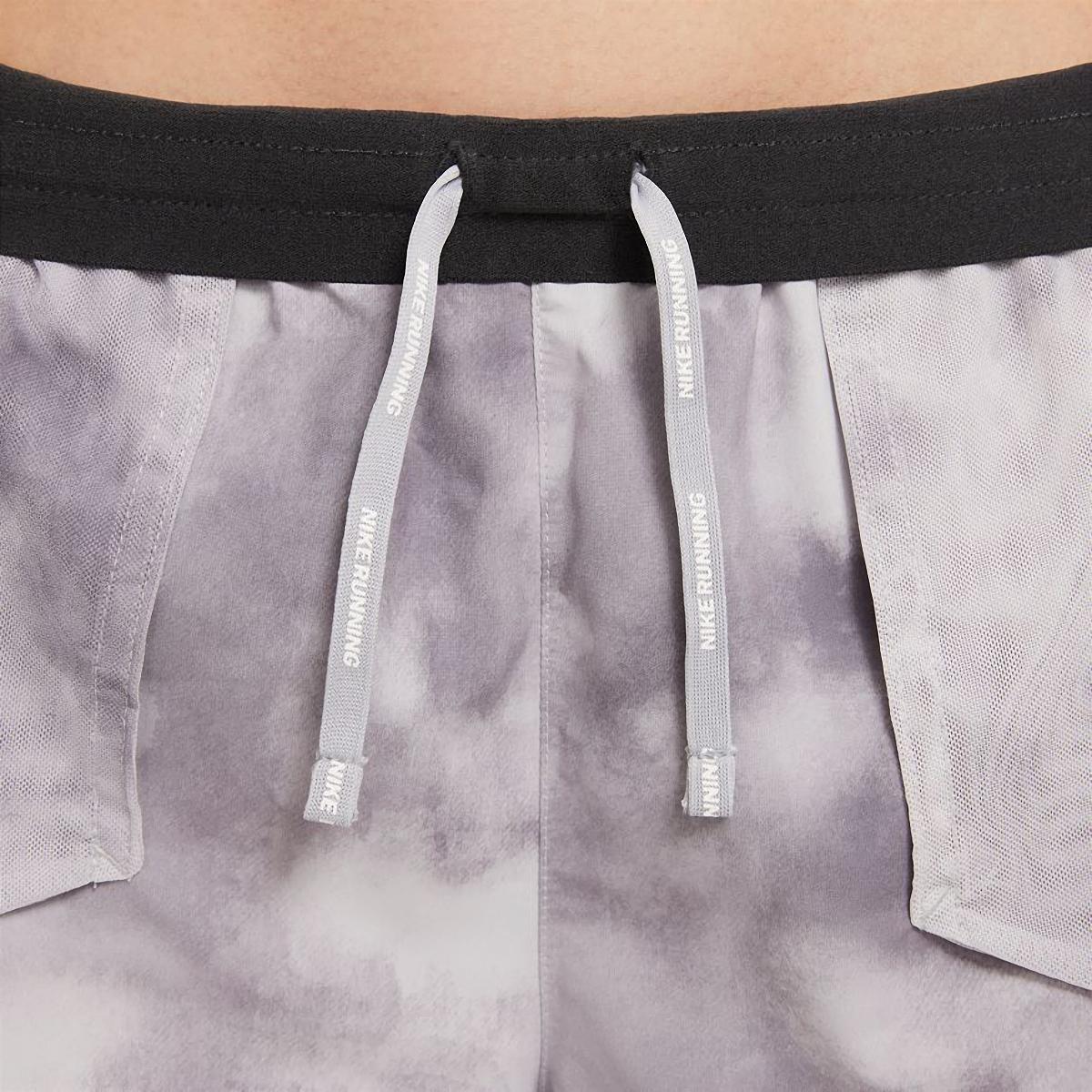 Women's Nike Tempo Luxe Icon Clash Running Shorts - Color: Light Smoke Grey/Dark Smoke Grey/Iron Grey - Size: XS, Light Smoke Grey/Dark Smoke Grey/Iron Grey, large, image 5