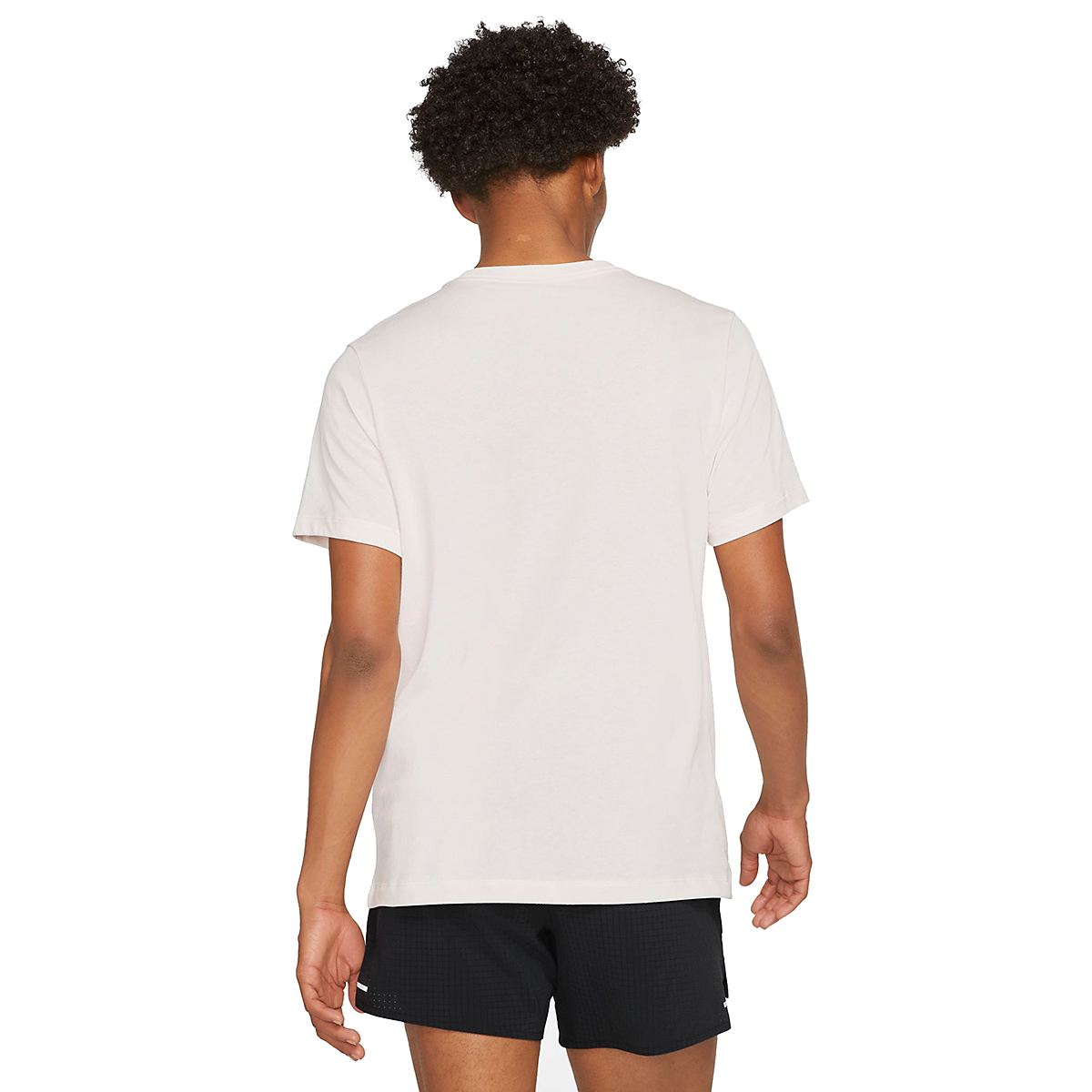 Men's Nike Dri-FIT Short Sleeve Trail Running T-Shirt - Color: Light Soft Pink - Size: XS, Light Soft Pink, large, image 2