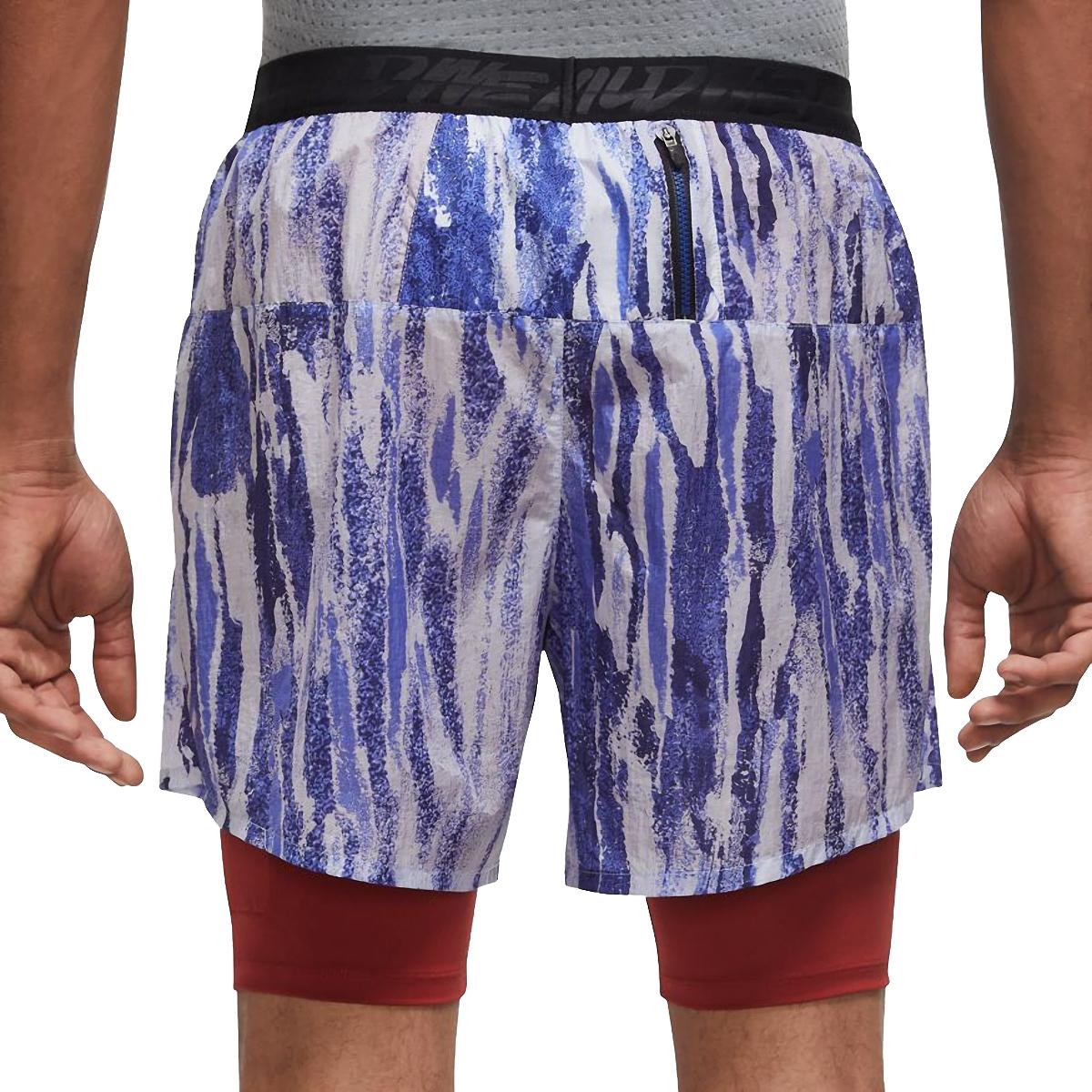 """Men's Nike Flex Stride Wild Run 2-in-1 5"""" Running Shorts - Color: Ghost/Dark Cayenne - Size: S, Ghost/Dark Cayenne, large, image 2"""