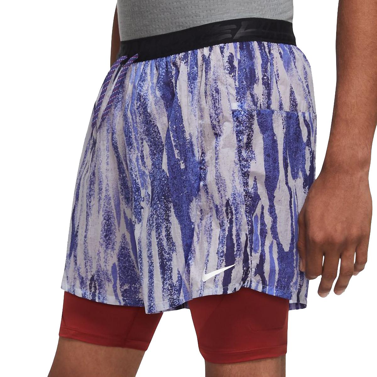 """Men's Nike Flex Stride Wild Run 2-in-1 5"""" Running Shorts - Color: Ghost/Dark Cayenne - Size: S, Ghost/Dark Cayenne, large, image 3"""