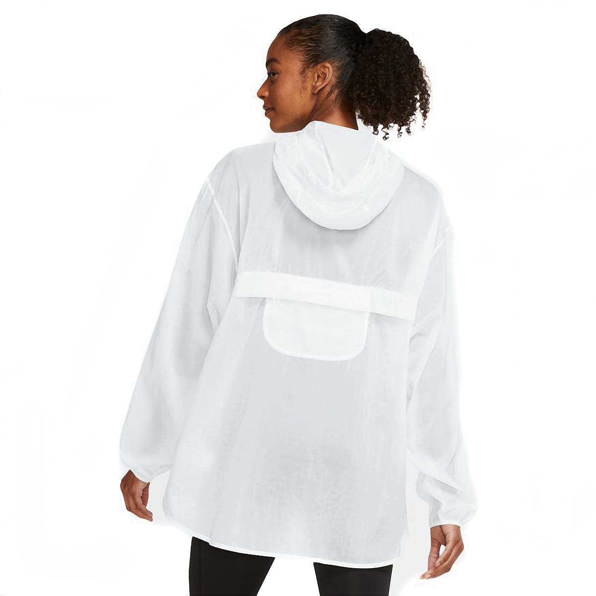 Women's Nike Run Division Package Running Jacket - Color: White/Black - Size: XS, White/Black, large, image 2