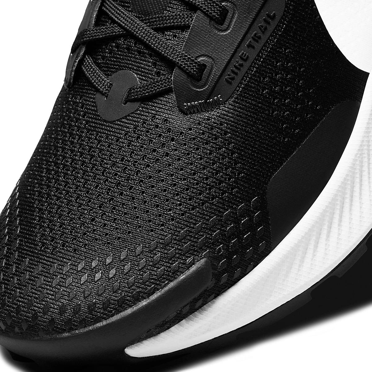 Men's Nike Pegasus Trail 3 Trail Running Shoe  - Color: Black/Pure Platinum/Dark Smoke Grey  - Size: 6 - Width: Regular, Black/Pure Platinum/Dark Smoke Grey, large, image 5