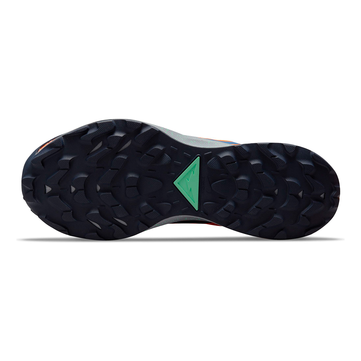 Men's Nike Pegasus Trail 3 Trail Running Shoe - Color: Total Orange/Signal Blue/Wolf Grey - Size: 6 - Width: Regular, Total Orange/Signal Blue/Wolf Grey, large, image 7