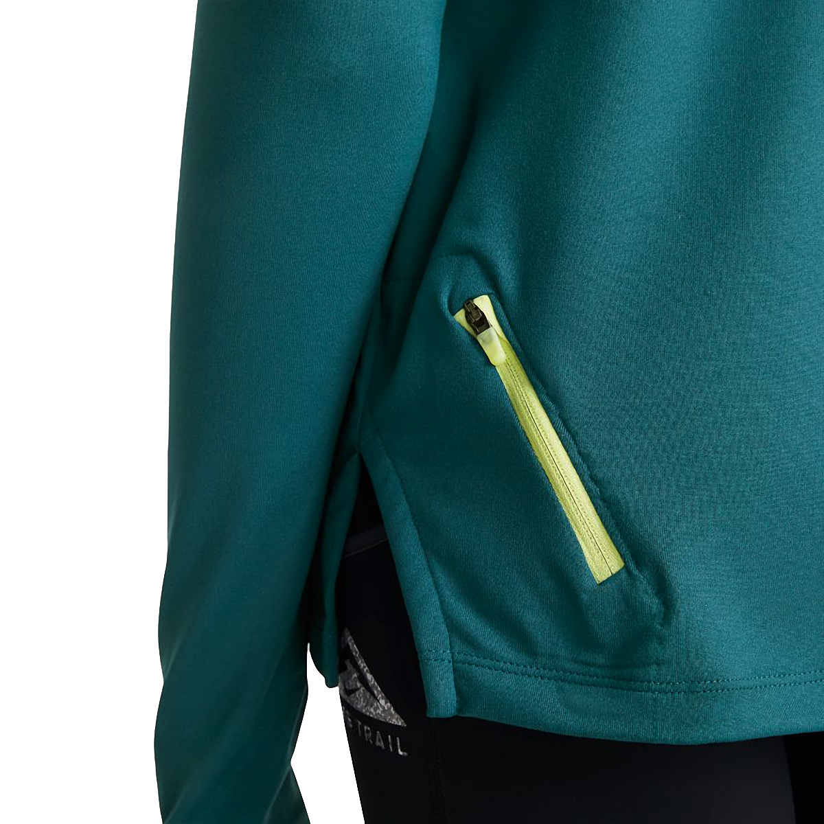 Women's Nike Element Trail Running Midlayer - Color: Dark Teal Green/Reflective Silver - Size: XS, Dark Teal Green/Reflective Silver, large, image 3