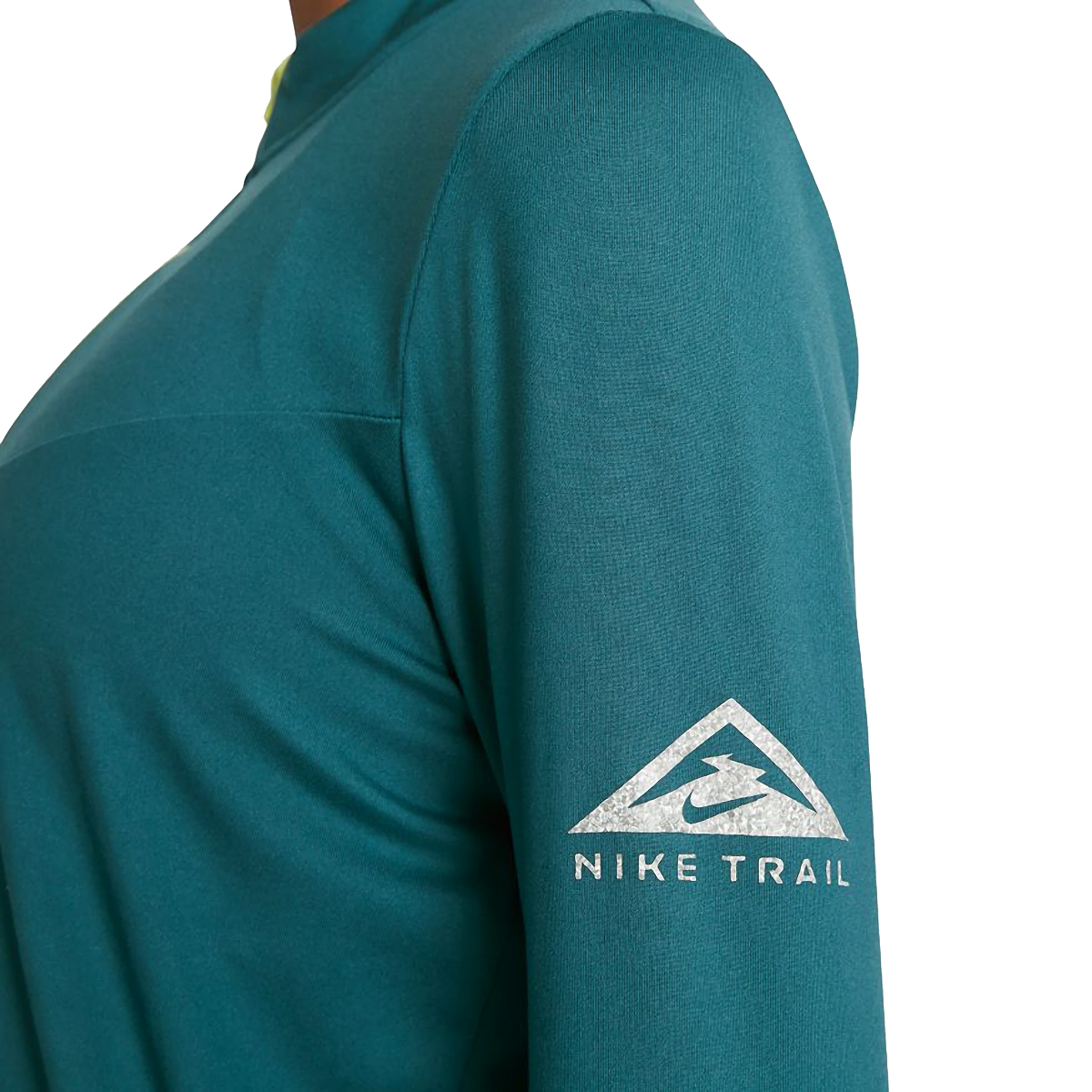 Women's Nike Element Trail Running Midlayer - Color: Dark Teal Green/Reflective Silver - Size: XS, Dark Teal Green/Reflective Silver, large, image 5