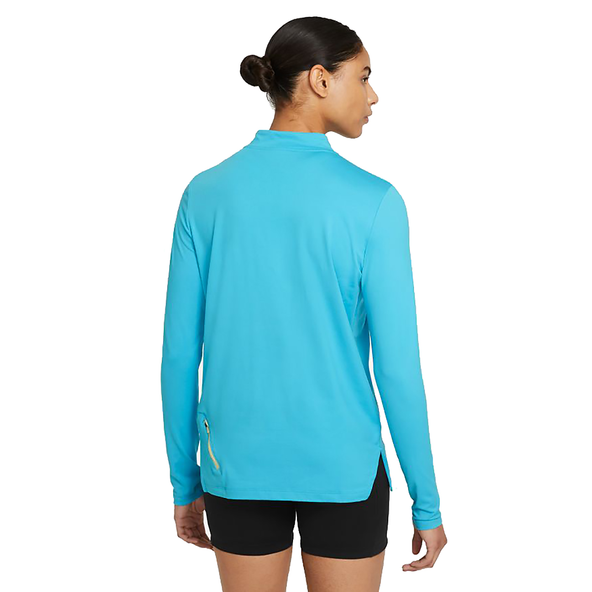 Women's Nike Element Trail Running Midlayer - Color: Chlorine Blue/Reflective Silv - Size: XS, Chlorine Blue/Reflective Silv, large, image 2
