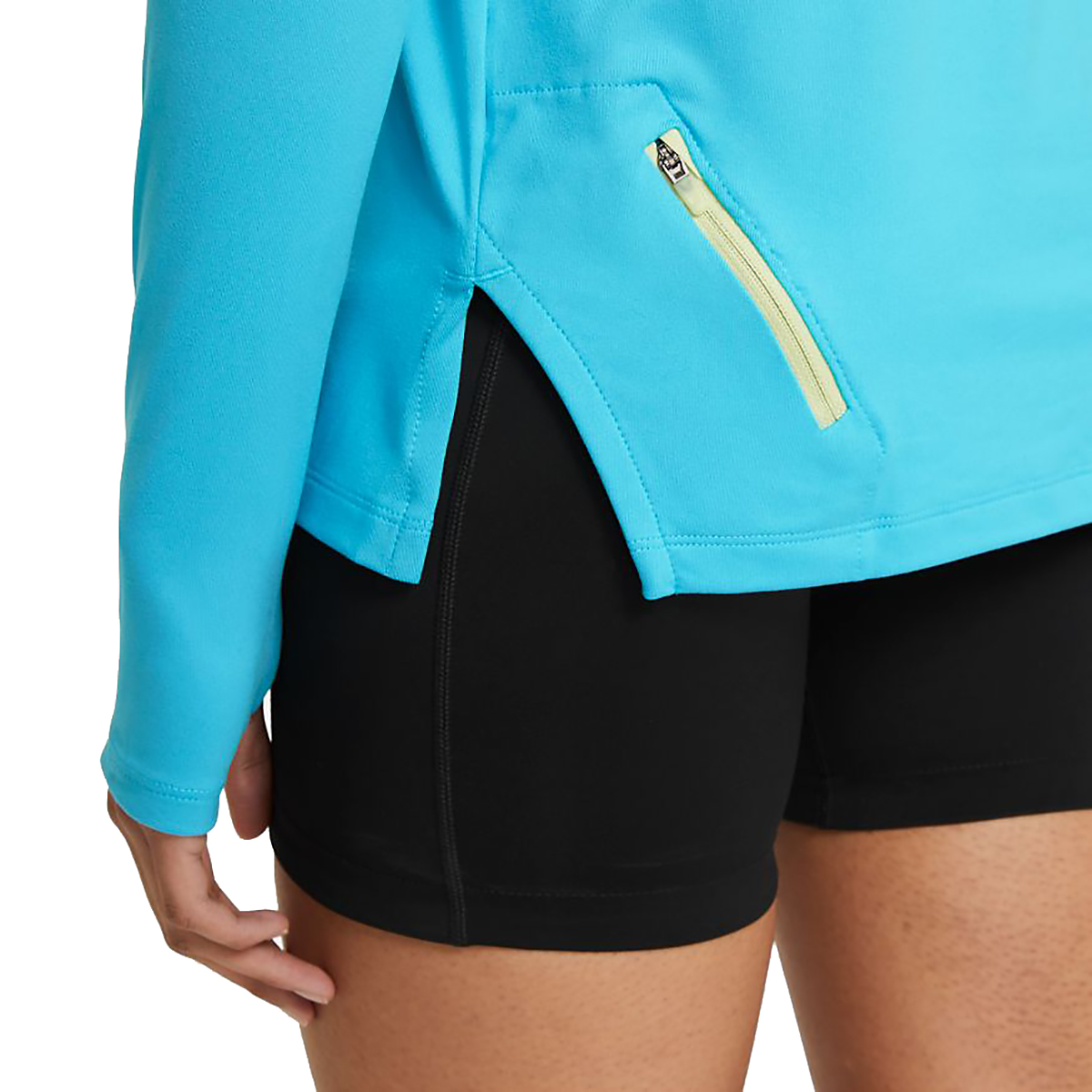 Women's Nike Element Trail Running Midlayer - Color: Chlorine Blue/Reflective Silv - Size: XS, Chlorine Blue/Reflective Silv, large, image 5
