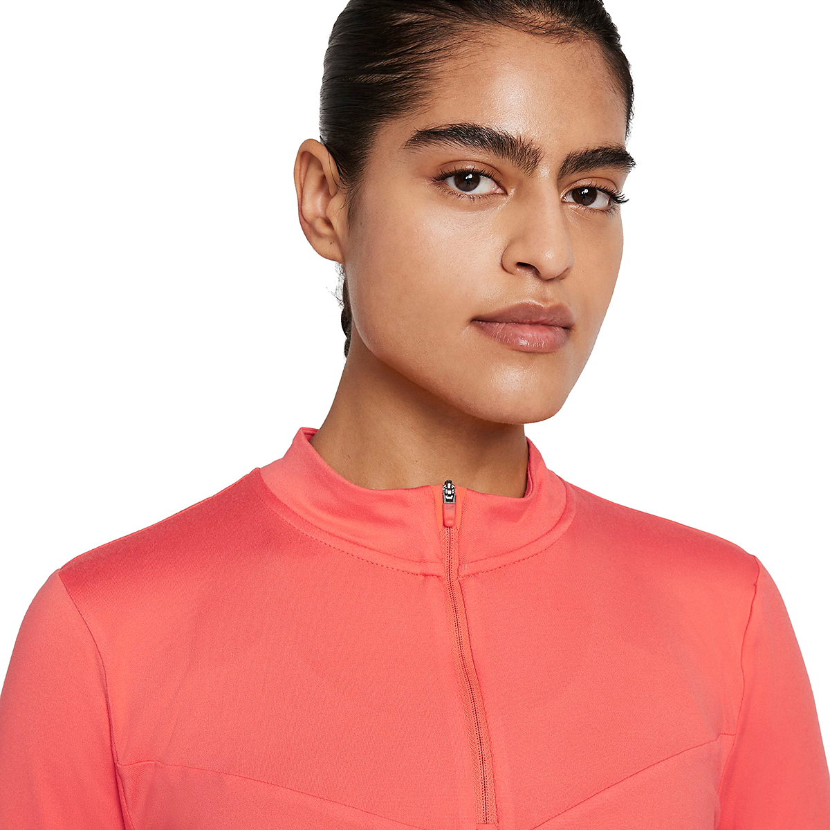 Women's Nike Element Trail Running Midlayer - Color: Magic Ember/Reflective Silver - Size: XS, Magic Ember/Reflective Silver, large, image 3
