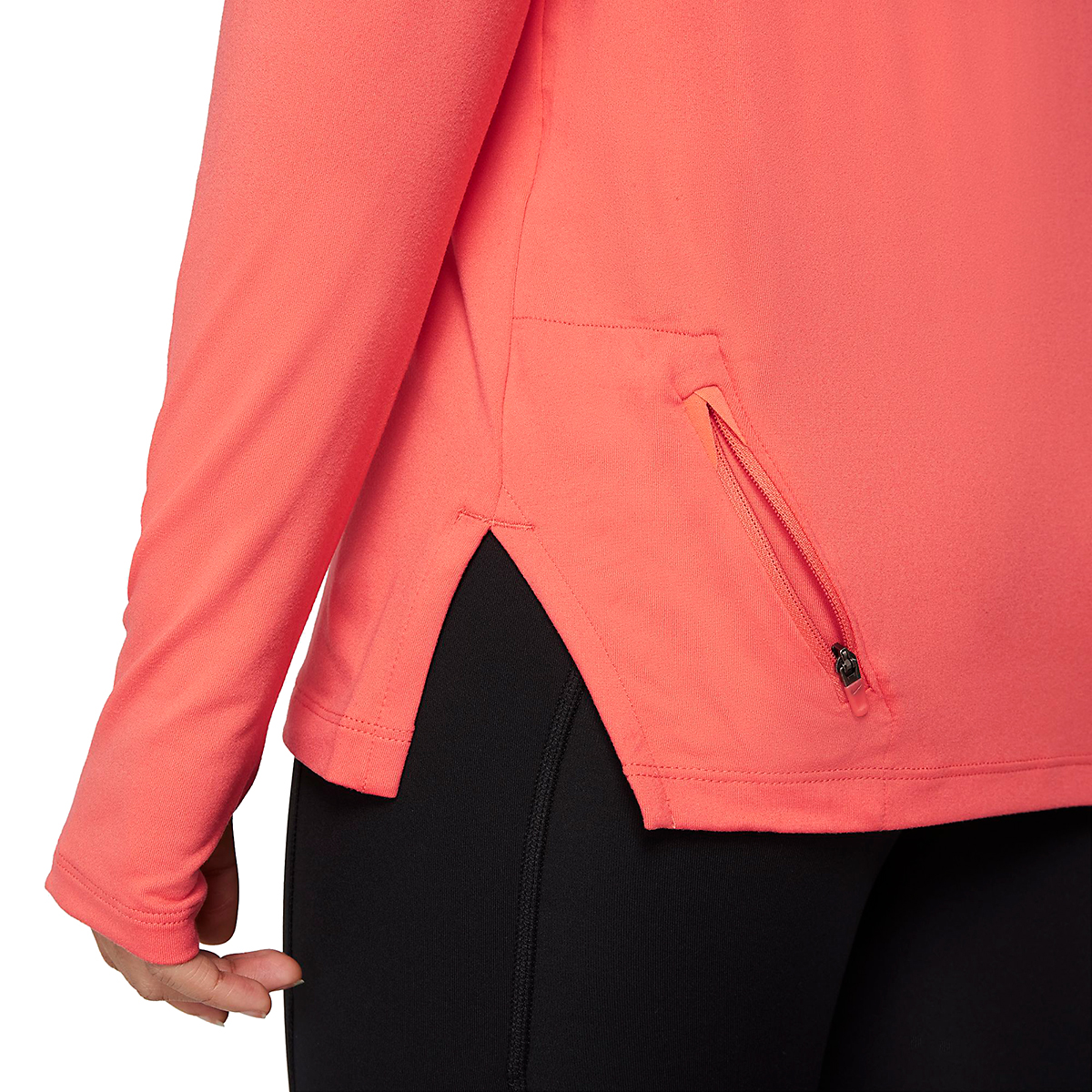 Women's Nike Element Trail Running Midlayer - Color: Magic Ember/Reflective Silver - Size: XS, Magic Ember/Reflective Silver, large, image 6