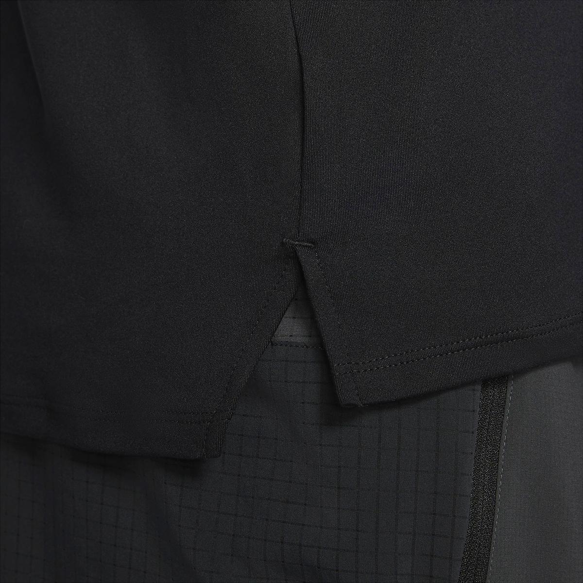 Men's Nike Dri-FIT Element 1/2-Zip Trail Running Top - Color: Black/Black/Dark Smoke Grey/White - Size: XS, Black/Black/Dark Smoke Grey/White, large, image 5