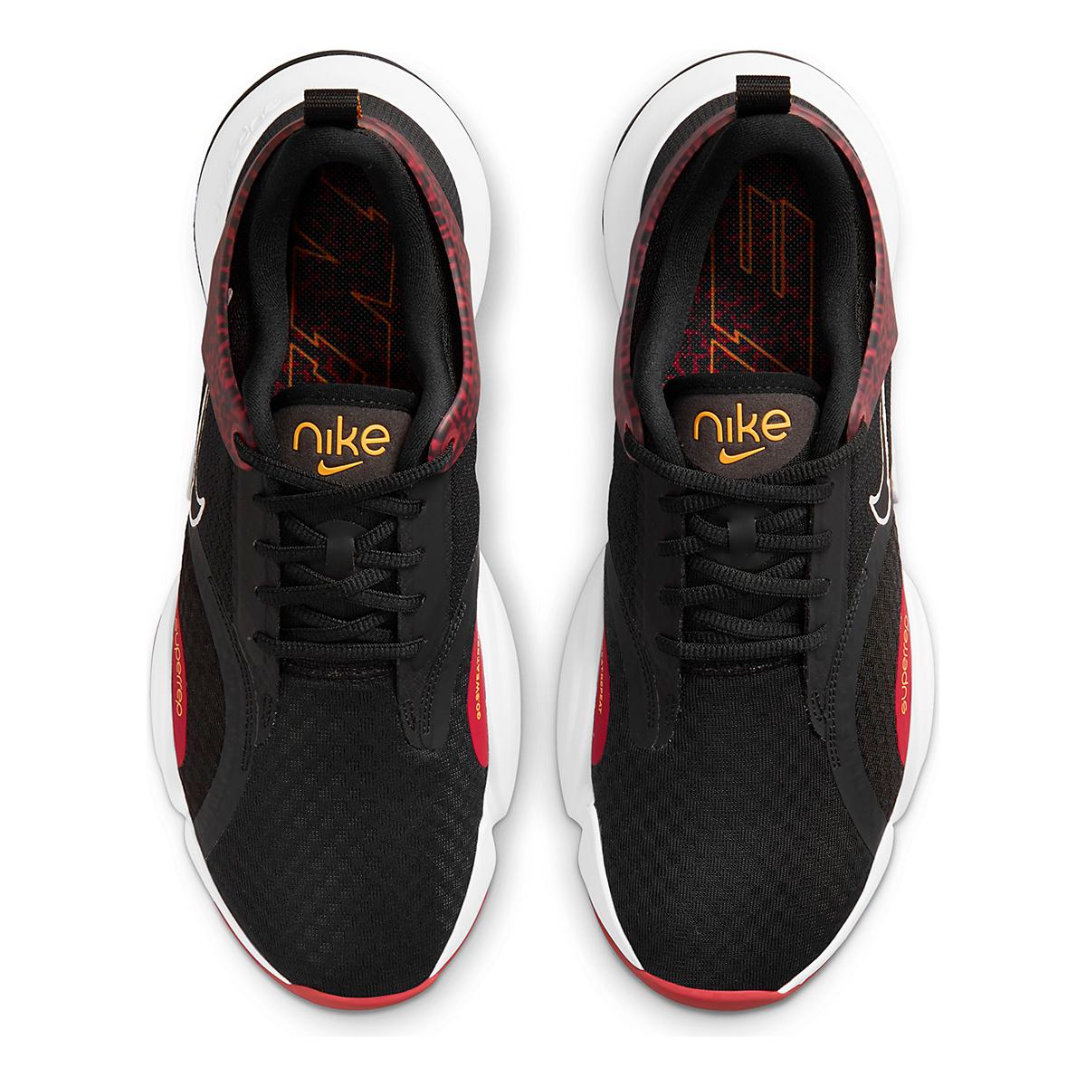 Men's Nike SuperRep Go 2 Training Shoe - Color: Black/White/Dark Cayenne/Solar Flare - Size: 6 - Width: Regular, Black/White/Dark Cayenne/Solar Flare, large, image 6