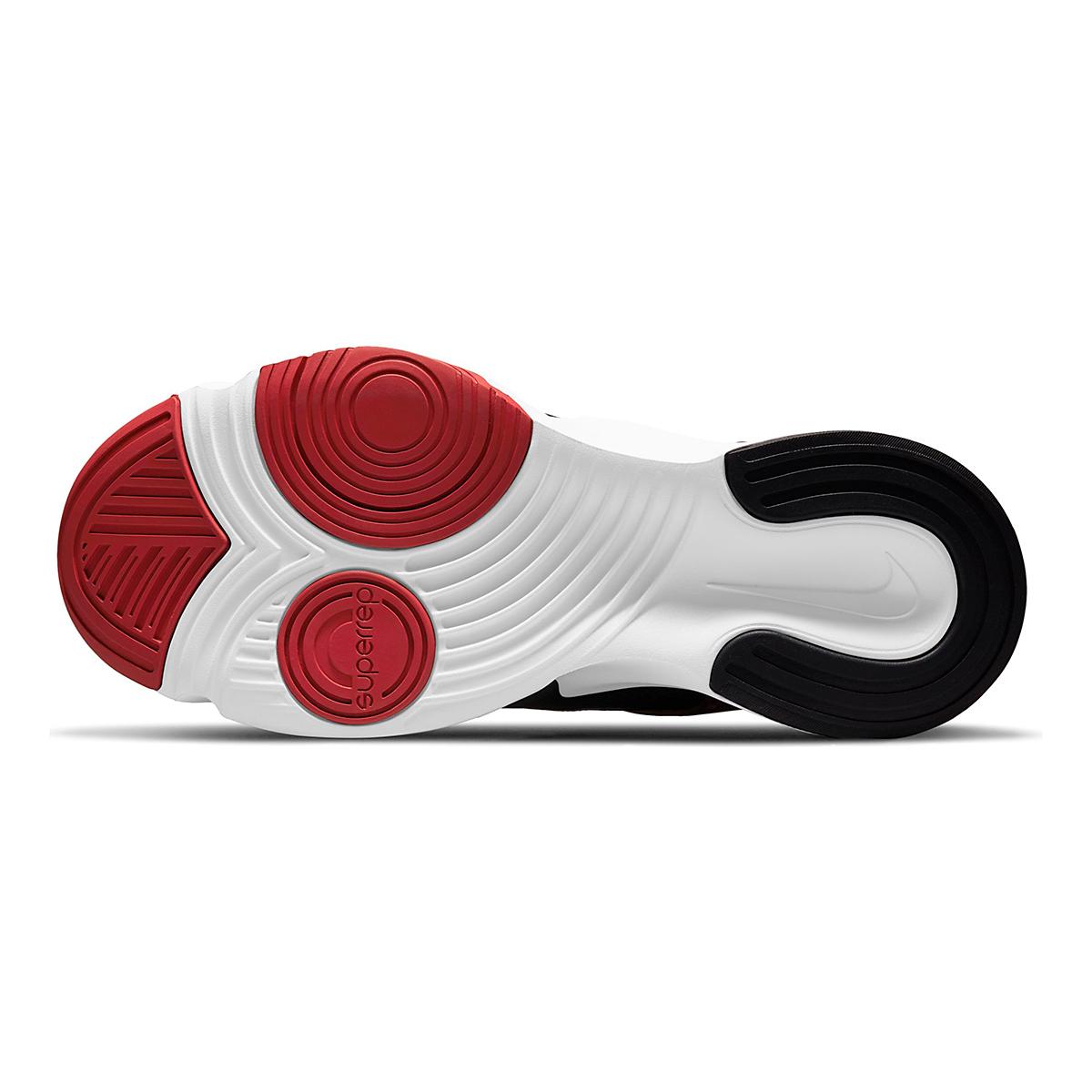 Men's Nike SuperRep Go 2 Training Shoe - Color: Black/White/Dark Cayenne/Solar Flare - Size: 6 - Width: Regular, Black/White/Dark Cayenne/Solar Flare, large, image 7