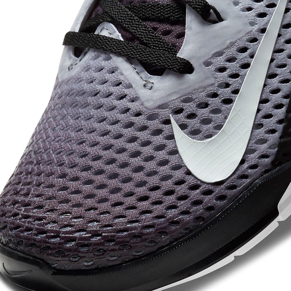 Men's Nike Metcon 6 Training Shoe - Color: Black/White - Size: 4 - Width: Regular, Black/White, large, image 7