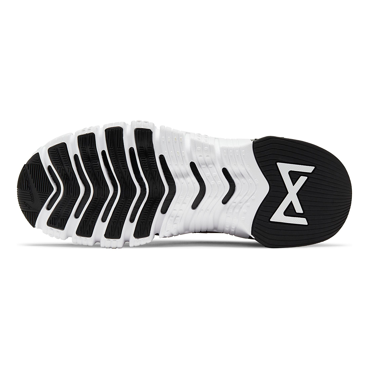 Women's Nike Free Metcon 4 Training Shoe - Color: White/Black - Size: 5 - Width: Regular, White/Black, large, image 3